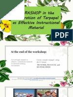 Ppt Tarpapel Inset 2019-2020