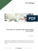 Customer Self Help Billing Portals