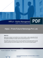 HIPLA – Visitor Management System