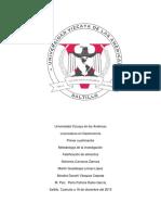 Falsificación de Alimentos- Documento Sobre Plantilla