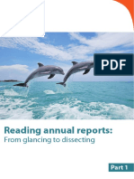 How to Read Annual Report Part1