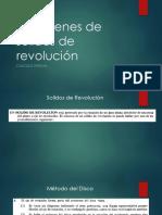 4 Volumenes de Solidos en Revolucion