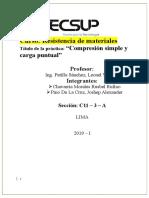 Ensayo de Compresion Simple y Carga Puntual_ Chavarria Moarales Rusbel
