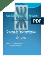 Sistema de Procesamiento de Datos Unidad Nº 2-1