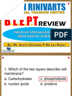 Preboard Exam BioScience 0319