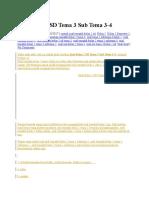 Soal Kelas 2 SD Tema 3 Sub Tema 3.docx