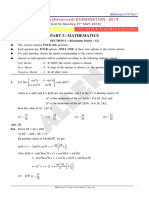 Mathematics Paper With Answer Solution Paper 1