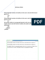 Computer HTML