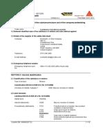 FEB Brickclean Safety Datasheet