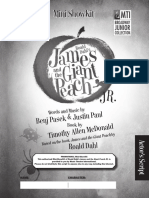 James and the giant peach Promotional Script