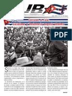 Revista Cuba + Nº28 - 3 junio 2019. Impulsando la solidaridad con Cuba
