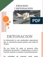 Proceso de Detonacion