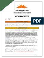 2019 Sacqsp newsletter