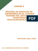 Unidad IX Enfermedades Musculoesqueleticas