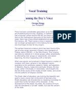 Vocal Training Boys Choir 1