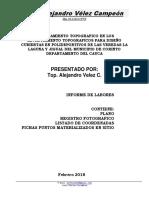Informe Levantamientos CORINTO CAUCA