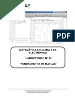 Lab 3 Fundamentos de Matlab 2018_2