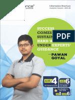 Resonance Information Brochure 2019-20