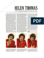 Interview Helen Thomas