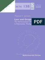 Johnson - Law and Gospel