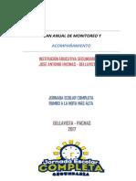 Plan de Monitoreo y Acompañamiento 2017- José-sub