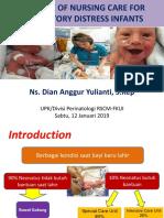 Nursing Care Respiratory Distress (Dian)