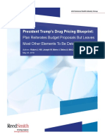Reed Smith Drug Pricing Client Alert May 23 2018