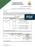 Edital 57 - 2019 - Local e Horrio Da Prova Didtica Do Edital 11 - Quadros 16 a 23