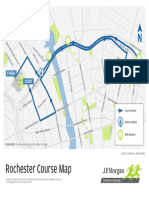 Rochester 2019 Race Map