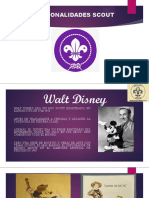 Personalidades Scout
