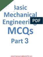 Basic Mechanical Engineering MCQs Part 3