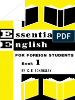 253405696 Eckersley Essential English for Foreign Students Book 1