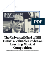 The Universal Mind of Bill Evans_ a Valuable Guide for Learning Musical Composition - Art of Composing