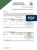 Edital 56 - 2019 - Local e Horrio Da Prova Didtica Do Edital 11 - Quadros 09 a 16