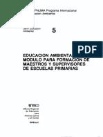 05 Modulo Para Formacion de Maestros y Supervisores de Ensenanza Primaria