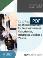 Curso Practico Modelos Gestion Recursos Humanos Competencias Desempeno Objetivos Valores