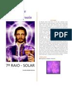 7° raio solar