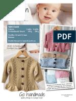 99648 Uk Cardigan Lace Flounce Booklet