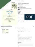 Holiday Bough Wedding Invitations by Basic Invite