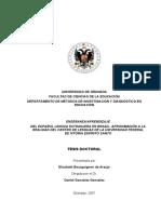 Aproximación a La Realidad Del Centro de Lenguas de La Universidad Federal de Vitória Espírito Santo