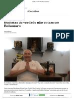 Budistas de Verdade Não Votam Em Bolsonaro