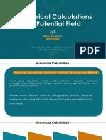 Presensentasi Numerical Calculations Potential Field