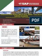 criterios estructurales para diseño y análisis de puentes colgantes