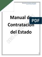Manual de Contratación Del Estado