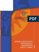 Modelo Educativo Pedaggico