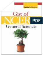 The Gist of NCERT General Science 1