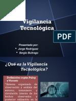 Exposicion Vigilancia Tecnologica