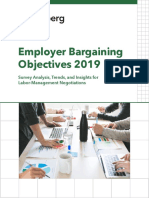2019 Bargaining Survey