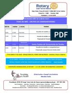 Programa Mês de Junho 2019