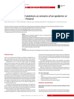 DDDDDDD- Scandinavian Journal of Forensic Science Twelve Unidentified s